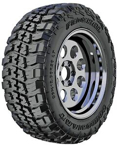 4 New Federal Couragia M T Lt265 70r17 121 118q E 10 Ply Mt Mud Tires
