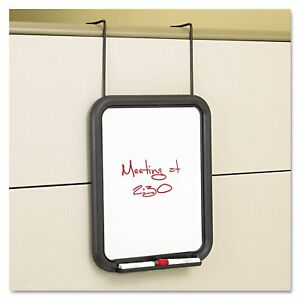 Safco Panelmate Dry Erase Marker Board 13 1 2 X 16 5 8 11 X 14 Surface Charcoal