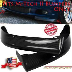 Scopione Type Ii Carbon Fiber Splitters For 99 05 Bmw 3 Series M tech Ii E46