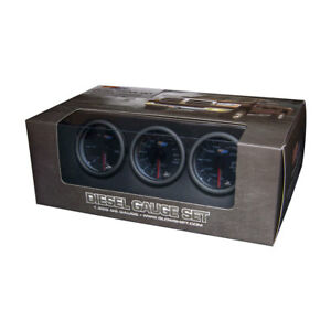 Tinted 7 Color Diesel Gauge Set 60 Boost 2400 Pyrometer Egt Trans Temp