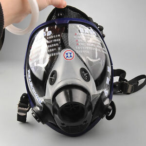 Us Full Face Gas Mask Anti dust Piece Respirator Painting Spraying Safety F 6800