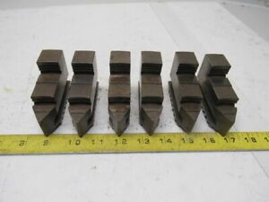 Self Centering Spiral Chuck Od Hardened 6 Jaws 2 X 3 1 2 X 1 Lot Of 6