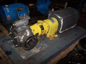 Blackmer 7 1 2 Hp Stainless Steel Provane Pump 2 Port Model Pvs100a 230 460 Vac