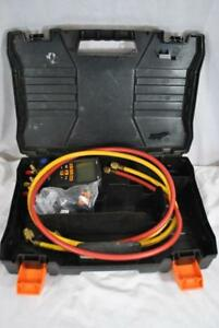 Testo 550 Digital Manifold Kit For Refrigeration Systems In Case