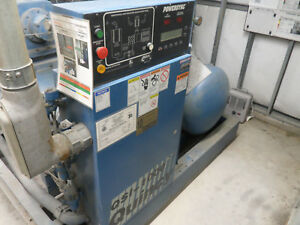 Low Hours Quincy Qsi 1000 W refrigerated Dryer 200hp Rotary Screw Air Compressor