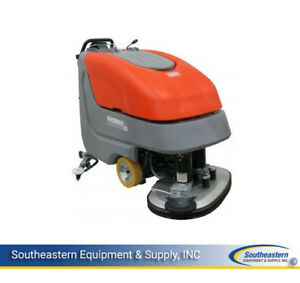 New Minuteman E3330 Disc Brush Automatic Scrubber No Batteries