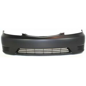 Front Bumper Cover For 2005 2006 Toyota Camry Primed Capa