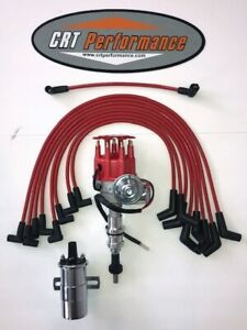 Sbf Ford 351w Windsor Small Cap 60k Electronic Distributor Upgrade Kit Red