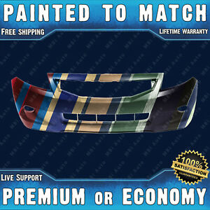 New Painted To Match Front Bumper Replacement For 2008 2009 2010 Honda Accord 2d