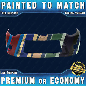 New Painted To Match Front Bumper Replacement For 2014 2015 2016 Toyota Corolla