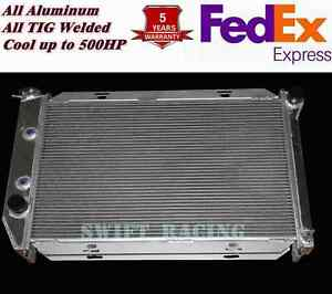 New All Aluminum Radiator 3 Rows Fit 1969 1973 26 Core Ford Mustang Mercury