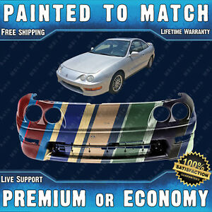 New Painted To Match Front Bumper Replacement For 1998 2001 Acura Integra 98 01