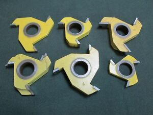 Freeborn mt 50 10 6pcs T alloy Cope And Pattern Set 1 4 And 1 2 Groovers