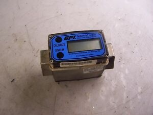 Gpi 1 Stainless Steel Flow Meter Hazardous Location Digital Meter S10n