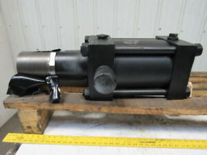 8 Bore 6 Stroke Hydraulic Cylinder Trunnion Mount 5 12 Threaded Shaft