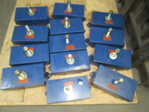 G h Schallschutz Fn2 n7 Vi Avibrator Spring Unit Machine Feet Lot Of 13