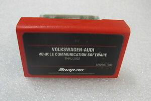 2002 Snap On Mt2500 And Mtg2500 Scanner Vw Audi Software Cartridge Mt25