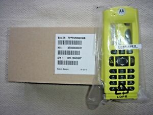 New Motorola Apx6000 Apx8000 M3 Yellow Housing Inc Free Shipping Kt000033c01