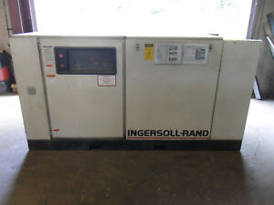 Only 7132 Loaded Hours Ingersoll Rand Ssr ep100 W dryer 100hp Screw Compressor