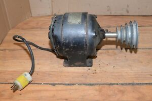 Antique Westinghouse 1 4 Hp Motor 1725 Rpm Watchmaker Lathe Tool Collectible