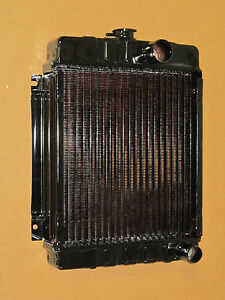 Radiator W Copper Core For Ih International 154 Cub Lo boy 184 185