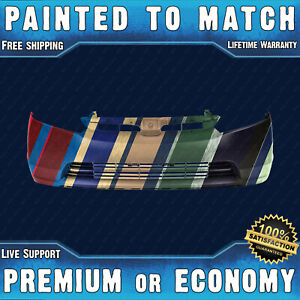 Painted To Match Front Bumper Replacement For 2007 2008 Honda Civic Si Sedan