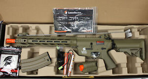 Lancer Tactical M4 SPR quot;Interceptorquot; LT 25T G2 Gen 2 DE Airsoft Gun Rifle Air $169.99