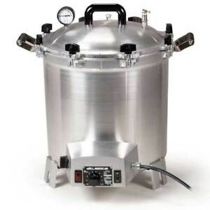 All American 75x Electric Autoclave Sterilizer Large 41 Quart Benchtop 240v