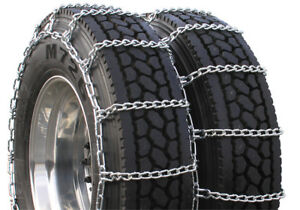 Rud Highway Service Dual 245 80 22 5 Truck Tire Chains