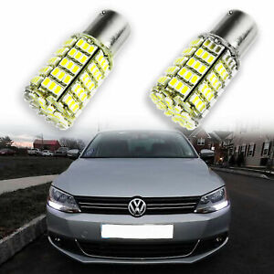 1156 127 Smd White Led Bulb Daytime Drl Lights For 2011 2016 Volkswagen Jetta