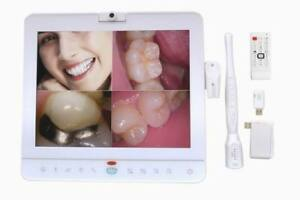 15 Inch Wireless Dental Monitor Intraoral Camera Vga video Port With Lcd Holder