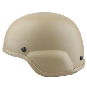 EMERSON Tactical ACH MICH 2000 Helmet for Airsoft Paintball Hunting Dark Earth