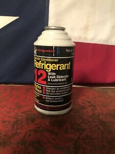 One Id R12 Refrigerant With Leak Detector With Oil Dye 12oz Full Can