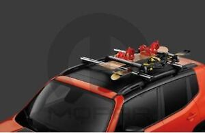 07 20 Chrysler Dodge Jeep Thule Universal Rooftop Mount Ski Snowboard Carrier