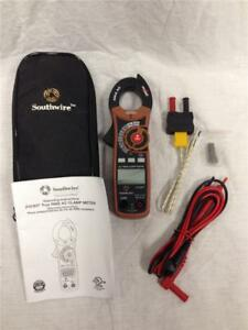 Southwire 21030t True Rms Ac Clamp Multimeter Meter