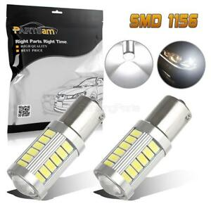 1156 High Power 20w Backup Light Reverse Bulbs White 7000k Led Projector X2