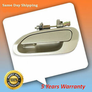 For 98 2002 Honda Accord Yr508m Heather Mist Metallic Rear L Outside Door Handle