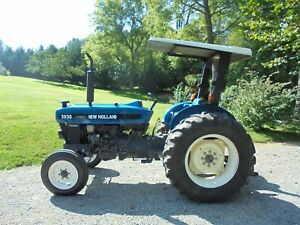 New Holland Ford 3930 Tractor 52 Hp 2 Wheel Drive With Canopy 1999 Year Model
