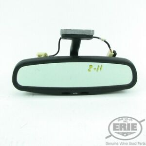 Volvo Oem Rear View Mirror W Auto Dimming Lights Fits C70 98 04 Convertible