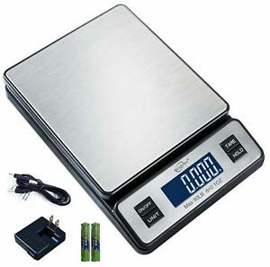 Weighmax W 2809 90 Lb X 0 1 Oz Durable Stainless Steel Digital Postal Scale
