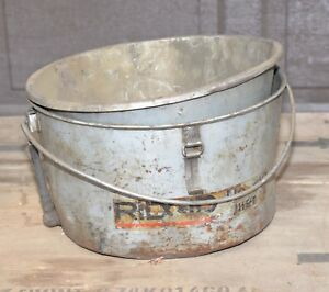 Ridgid 2 Pc Coolant Oiler Catch Pan Chip Bucket For 300 300 A Plumbing Tool