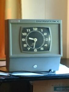 Large Industrial Cincinnati Time Clock 15 X 15 X 10