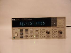 Hp Agilent Keysight 53132a 225mhz Universal Counter Used