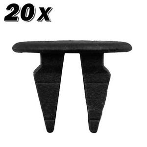20pcs Nylon Bumper Fender Hood Moulding Panel Clip For Hyundai Tiburon Veracruz