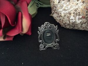 Sterling Silver Miniature Picture Frame Marked Sterling Reo