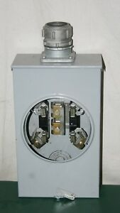 Good Condition Anchor Electric Meter Socket Single Phase Electric Meter Base