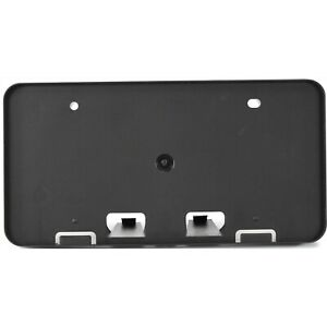 License Plate Bracket For 2007 2008 2009 Toyota Camry Front Plastic Black