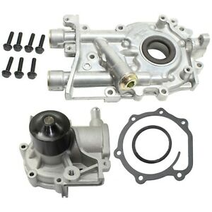 Oil Pump Kit For 90 2005 Subaru Legacy 2003 2006 Baja With Water Pump 2pc