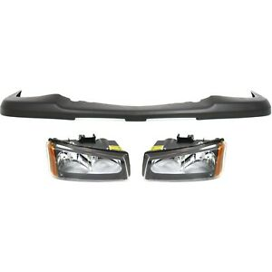 Bumper Kit For 2003 2006 Chevrolet Silverado 1500 Front Capa Certified Part 3pc