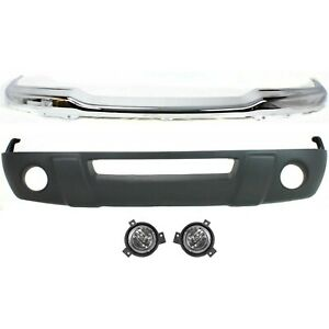Bumper Kit For 2001 2003 Ford Ranger Xlt Models Front 4wd 4pc